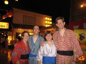 Four in Yukata