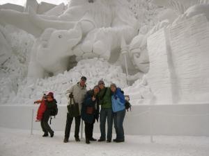 Big Ice Sculpture