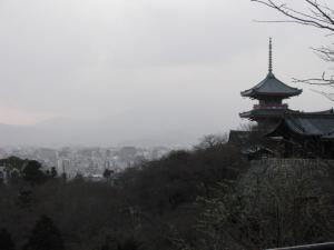 Kyomizudera and Kyoto Skyline