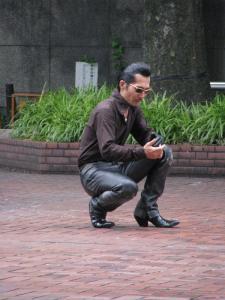 Rockabilly squat