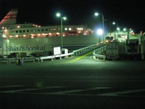 Ferry at Night