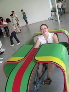 Danielle in the Trike